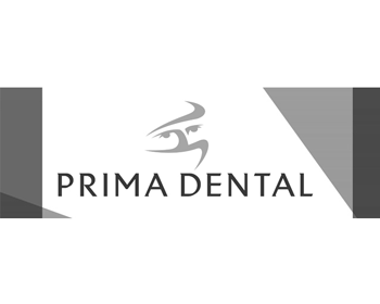 Prima Dental Group logo grey