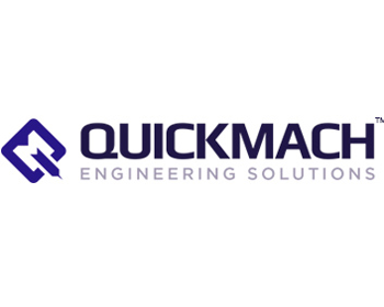 Quickmach engineering logo colour