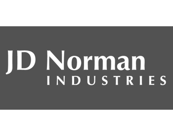 JD Norman logo grey